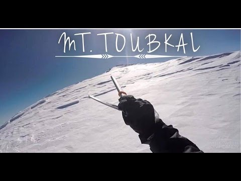 How to climb Mt. Toubkal - Winter edt.