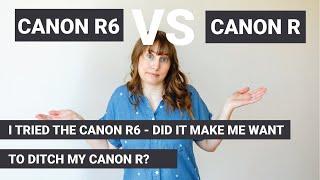 I Finally Tried the Canon R6 -…