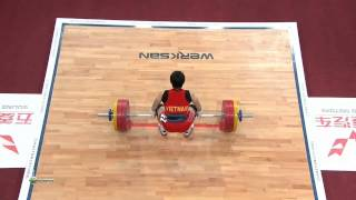 TRAN Le Quoc Toan 3j 159 kg cat. 56 World Weightlifting Championship 2013