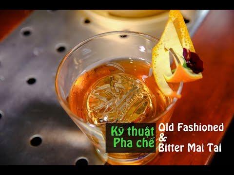 Cách Pha Chế Cocktail Old Fashioned Và Bitter Mai Tai | Hướng Nghiệp Á Âu