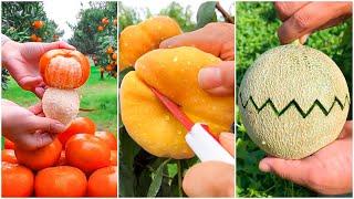 😍Farm Fresh Ninja Frขit   Tik Tok China   (Oddly Satisfying Fruit Ninja) #6