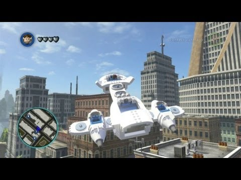 LEGO Marvel Super Heroes - All 16 Aircraft Vehicles in Action
