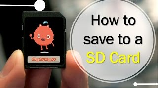 How to Save to a SD Card with Mobizen