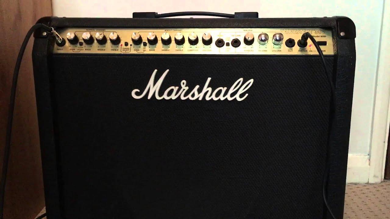 Marshall Model 8080 Valvestate Amp  Ref Brian