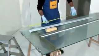 Cum sa montezi usa glisanta din sticla Syntesis Line 10mm