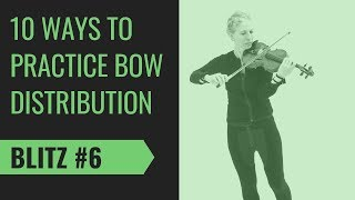 Bow Distribution Tip #6 | Body Motion