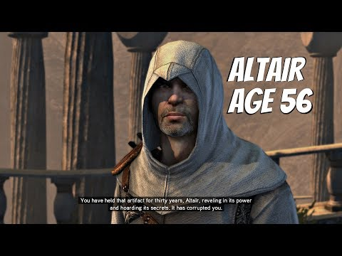 Assassin's Creed Revelations PS4 - Death of Altair's Wife & Altair Escapes Masyaf