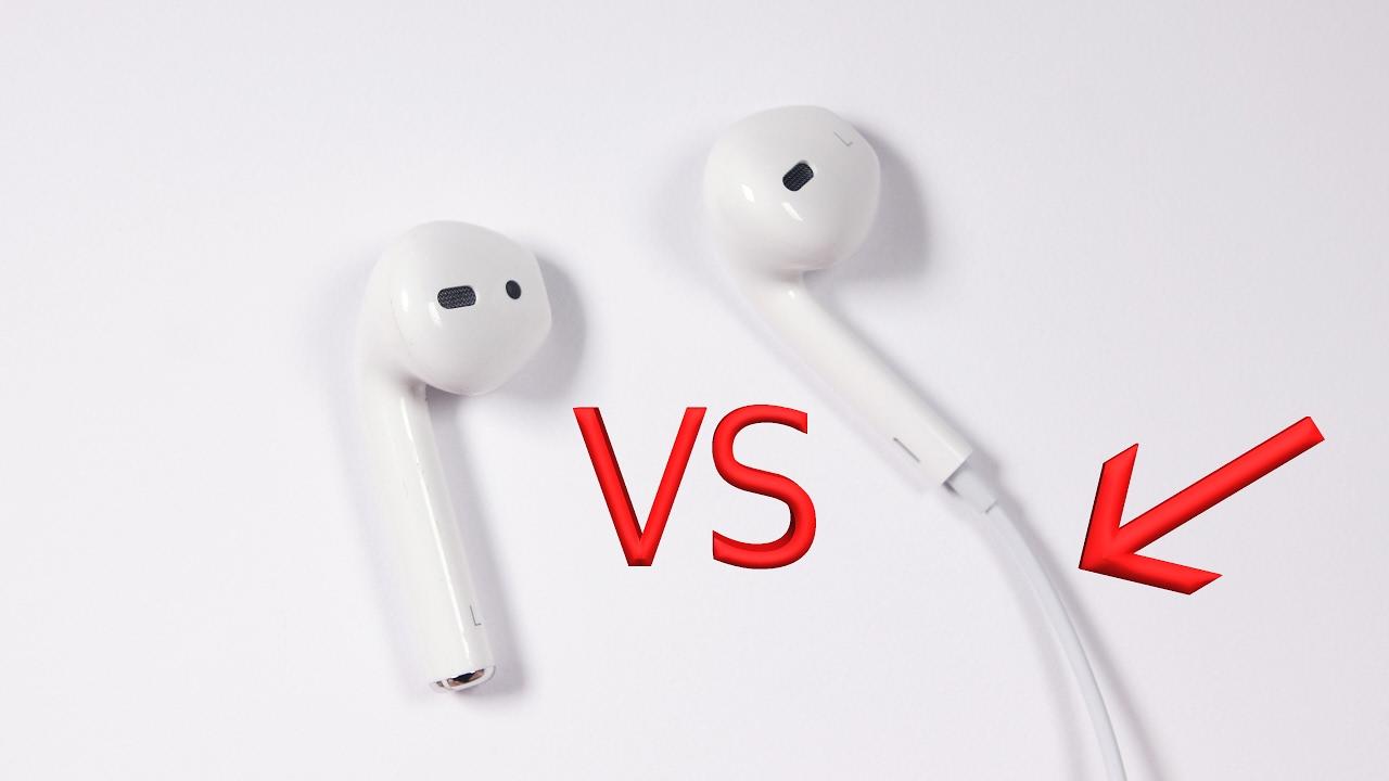 Apple Airpods Vs Apple Lightning Headphones Youtube