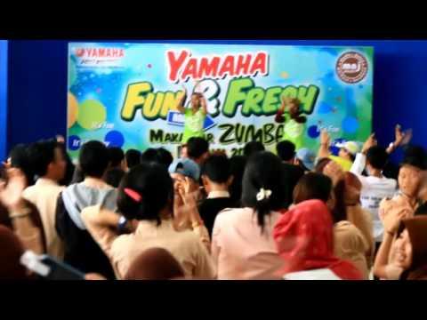 SMK Negeri 7 Makassar part 2 - Road Show Zumba School with Yamaha