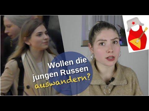 Wollen die jungen Russen auswandern?