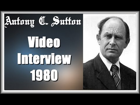 Antony C  Sutton  Interview