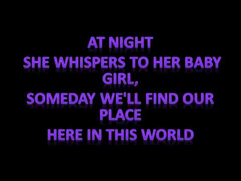 Temporary Home~ Carrie Underwood
