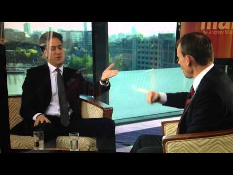 Andrew Marr does a Gordon Brown impression.