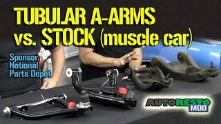 Pros and Cons of Tubular A Arms for Classic Cars Gas vs Hydraulic Shocks Episode 192 Autorestomod