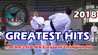 2018 The 23rd JKA European Championship - Greatest Hits