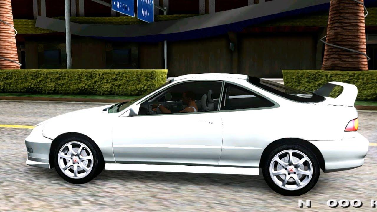 Acura Integra Fast N Furious GTA MOD YouTube - Acura integra mods