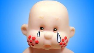 Куклы пупсики Играем В доктора Ставим укол Развивающее видео для девочек дочки-матери
