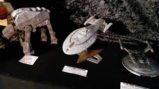Tour de mon stand à Martigues science fiction film festival 2018