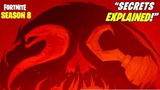 'NEW' FORTNITE SAISON 8 TEASER 2 A EXPLIQUÉ SECRETS! SNAKES!! (Saison 8 Storyline - Changements de carte!)