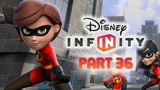 Disney Infinity Gameplay Walkthrough Part 36 - MRS. INCREDIBLE ELASTIGIRL Incredibles Play Set World