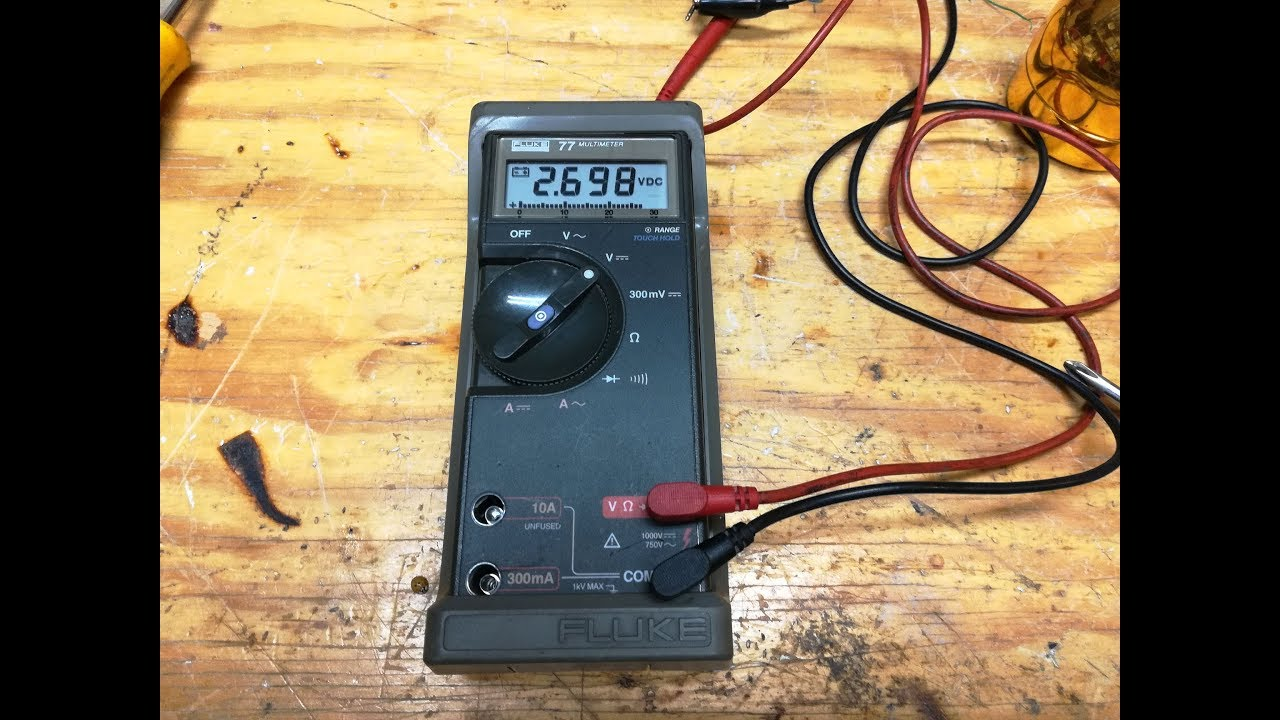 Fluke 77 diagnosis and repair