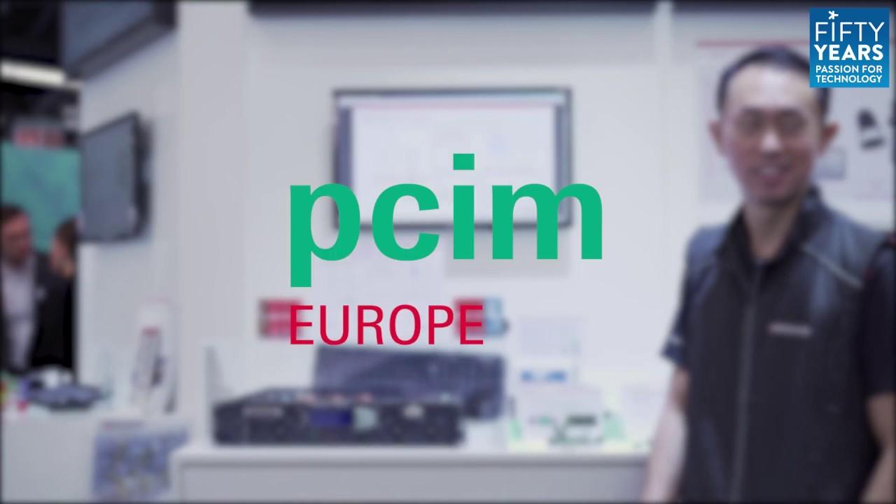 EBV@ PCIM 2019 - Broadcom - 8 KW AD/CD SIC Converter