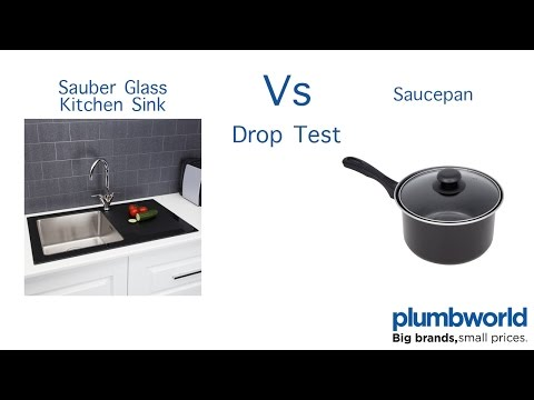 sauber-glass-kitchen-sink-drop-test---plumbworld