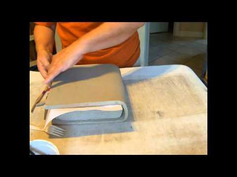 Kids ceramic clay Book project