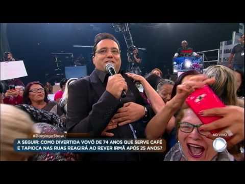 """Plateia de vovós """"abusa"""" do apresentador Geraldo Luís"""
