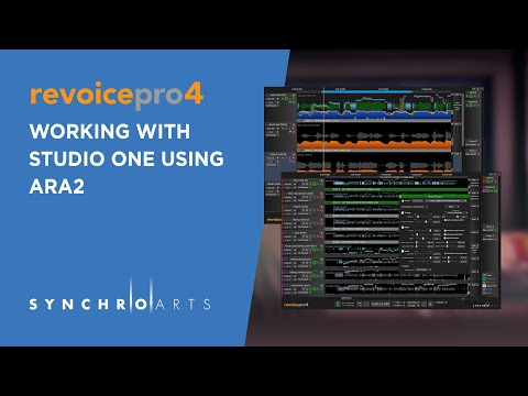 Revoice Pro 4 - Studio One - Getting Started With ARA2 thumbnail