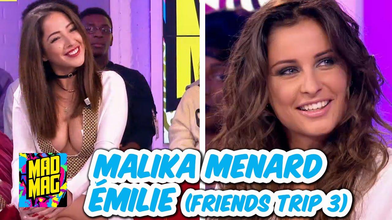 🎉 Mad Mag Du 15/11/2016 Avec Malika Ménard Et Emilie (Friends Trip)    YouTube