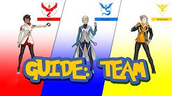 Pokemon Go Guide: Team Rot, Team Blau oder Team Gelb - Tipps & Infos Pokemon Go Deutsch German