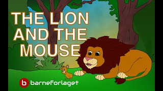 THE LION AND THE MOUSE | Fairy Tale | Bedtime story with colorful pictures | famoustales.com