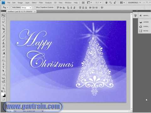 Christmas Background Images For Photoshop.Christmas Background From Scratch Part 2 Photoshop Week 29