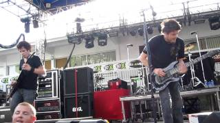Crossfade - Dead Memories - Live 9/5/2011 @ Green Iguana - Tampa, FL