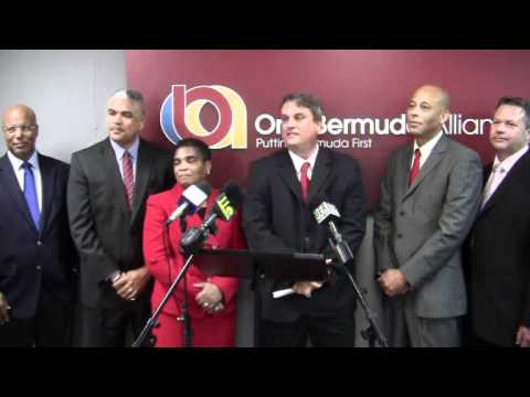 Q&A OBA Announce Candidates Barrett Gordon-Pamplin Bermuda February 9 2012