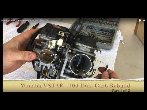 Yamaha VSTAR 1100 Carburetor Rebuild - Part 1 of 2