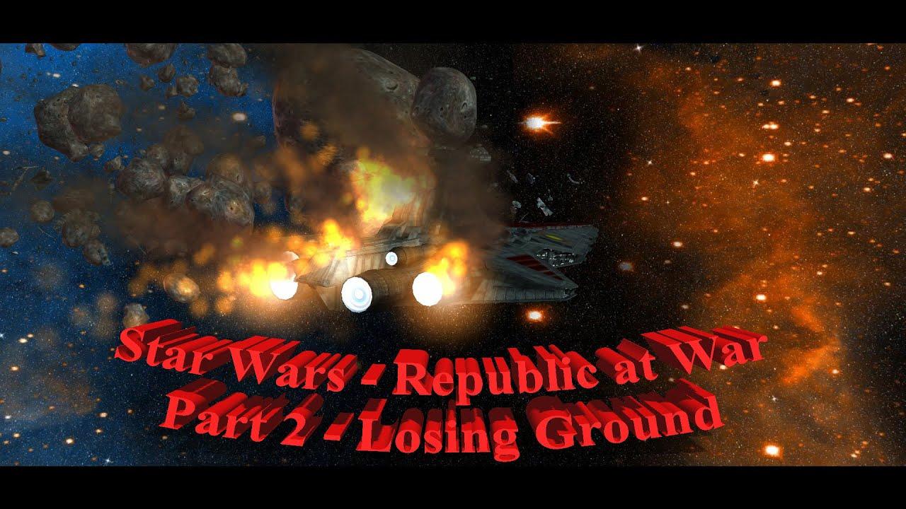 Star Wars Republic War Hard Part - Exploring Mars
