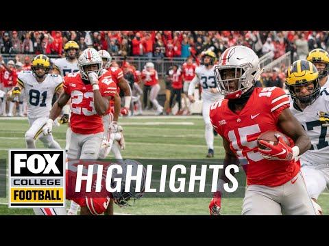 Michigan vs Ohio State | FOX COLLEGE FOOTBALL HIGHLIGHTS