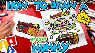 How To Draw A Muṁmy Folding Surprise