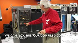 The IBM 1401 compiles and runs FORTRAN II