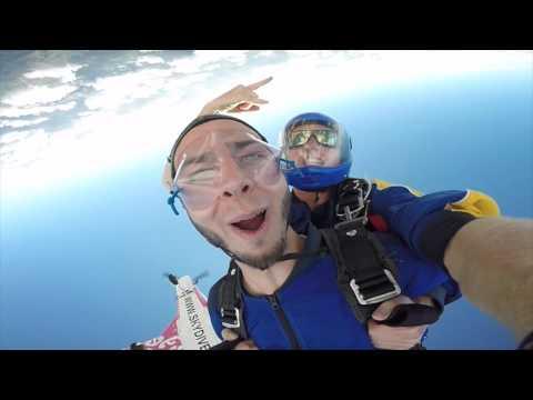 Skydiving Lake Taupo NZ 2/14/16