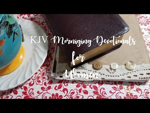 KJV Morning Devotionals For Women #10