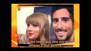 Veja a entrevista de Marcos Mion com Taylor Swift #arquivolegendários