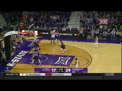 TCU vs Kansas State Men's Basketball Highlights