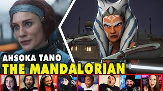Reactors Reaction To Ahsoka Tano Name-Drop On The Mandalorian Season 2 Episode 3 | Mixed Reactions