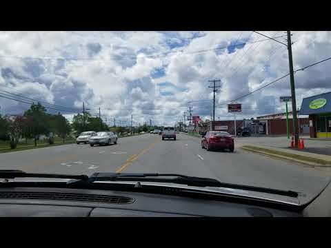 Driving through Jacksonville Florence is 24-48 hrs out.