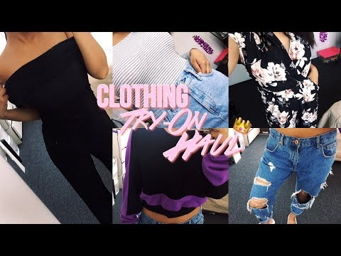 COLLECTIVE CLOTHING TRY-ON HAUL - JustFashionNow, Urban Outfitters, Forever21 +More | Jenn Isabel