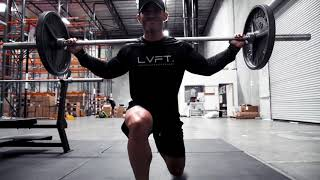 EPIC LEG DAY with LVFT. Ambassador Joe Andrews in the upcoming IMPACT collection