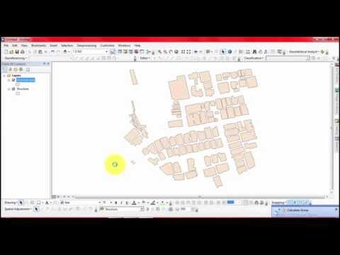 How to calculate area of geographic coordinate projection in ArcGIS